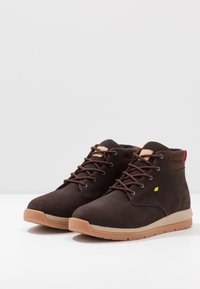 Boxfresh - BROWNDALE - Lace-up ankle boots - toffee/lime - 2
