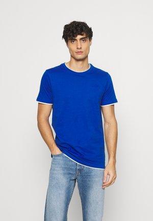 EBANKS - Basic T-shirt - blau