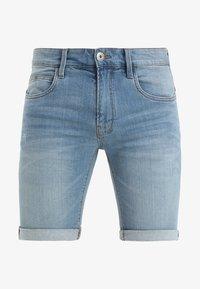 KADEN - Short en jean - blue wash