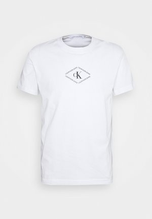 MONOTRIANGLE TEE - Camiseta estampada - bright white