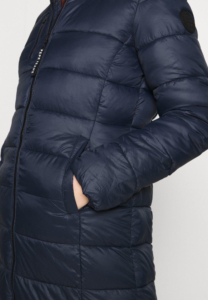 Pepe Jeans LINNA - Wintermantel - dark ocean/dunkelblau hPqbyw