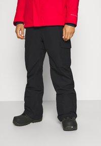 Quiksilver - PORTER - Snow pants - true black - 0
