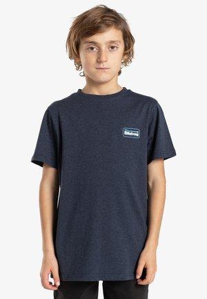 WALLED  - T-shirt imprimé - indigo heather