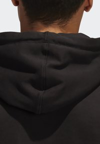 adidas Originals - RUN DMC HOODY - Hoodie - black/white/scarle - 4