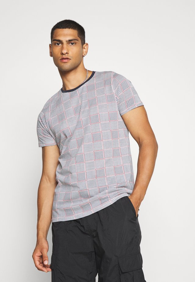 CHILIAN - T-shirt imprimé - navy/red/ecru