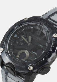 G-SHOCK - BLACK SKELETON  GA-2000SKE UNISEX - Digitální hodinky - transparent/black - 4