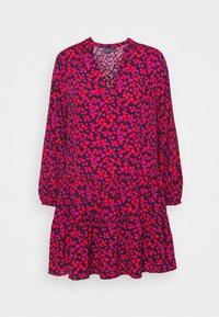 TIERED MINI - Denní šaty - pink