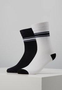 Mister Tee - STORMTROOPER HEAD SOCKS 2 PACK - Chaussettes - black/white - 0
