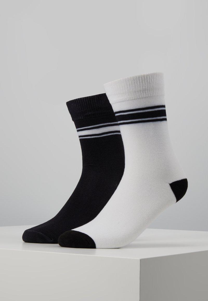Mister Tee - STORMTROOPER HEAD SOCKS 2 PACK - Chaussettes - black/white