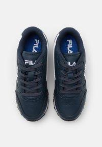 Fila - ORBIT KIDS - Zapatillas - dress blue/dazzling blue - 3