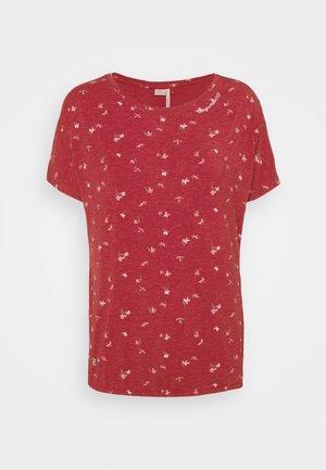 PECORI - T-shirts med print - red