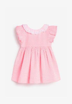 Denní šaty - coral