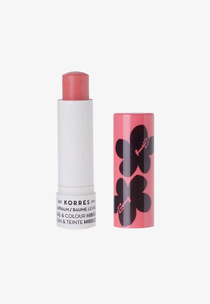 Korres - CARE & COLOUR / HIBISCUS LIP BALM - Lippenbalsem - hibiscus