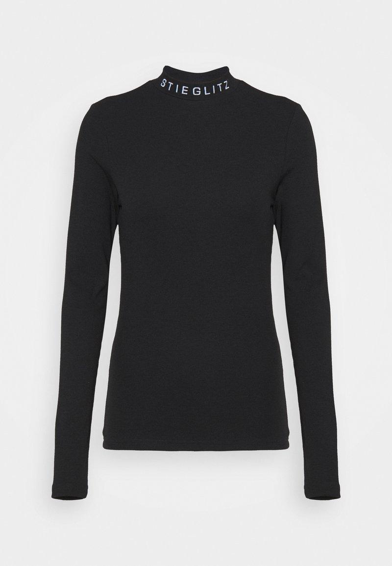 Stieglitz - Top sdlouhým rukávem - black