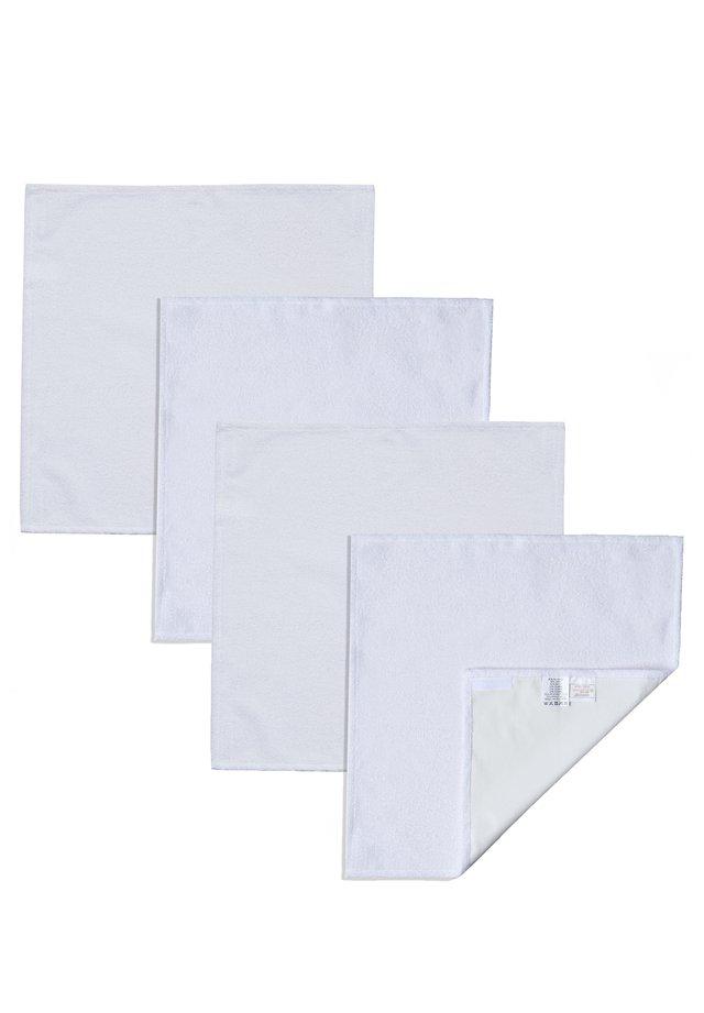 4ER SET XL - Changing mat - weiß