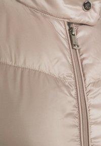 Lauren Ralph Lauren - PEARL SHEEN RACER MOTO SOFT - Down jacket - luxe - 6