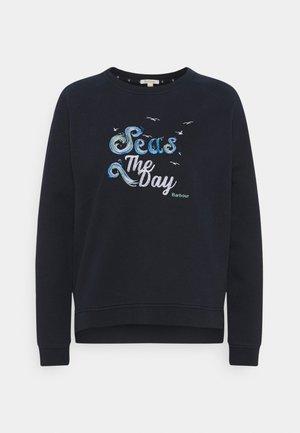DUNE OVERLAYER - Sweater - navy