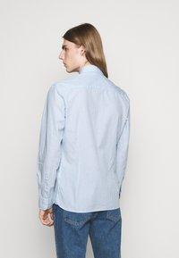 Hackett London - SLIM FIT - Shirt - sky/multi-coloured - 2