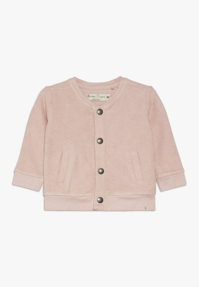 CARDIGAN BABY - Zip-up hoodie - straberry cream