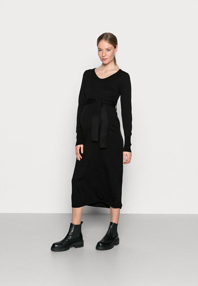 MLALESSANDRA DRESS - Žerzejové šaty - black
