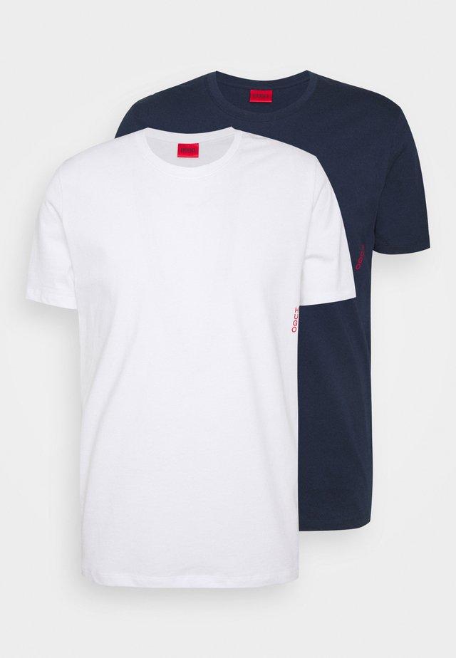 TWIN 2 PACK - Camiseta interior - dark blue/white
