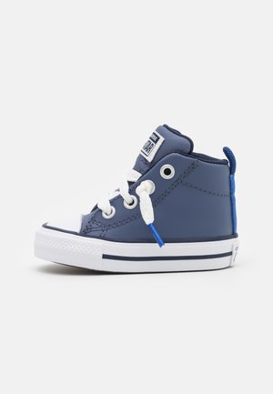 CHUCK TAYLOR ALL STAR STREET COLOR POP MID UNISEX - High-top trainers - steel/game royal/white