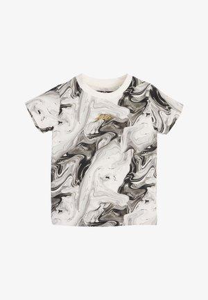 Camiseta estampada - black/off-white