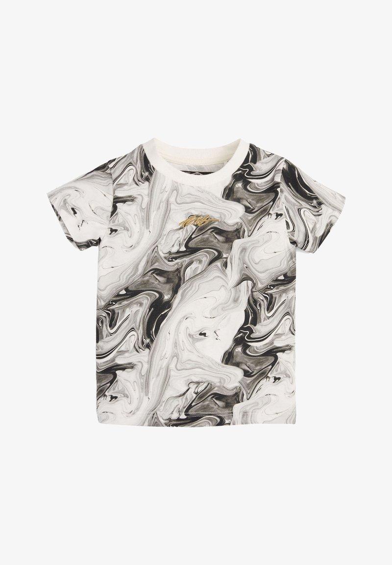 Next - Print T-shirt - black/off-white