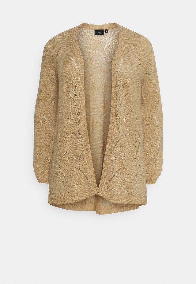 MEMMA CARDIGAN - Cardigan - beige