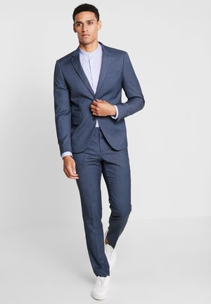 CHECKED SUIT - Kostym - blue