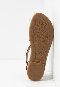 El Naturalista - TÜLBEND - Platform sandals - black - 6