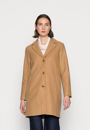 V LONG COAT - Krótki płaszcz - camel