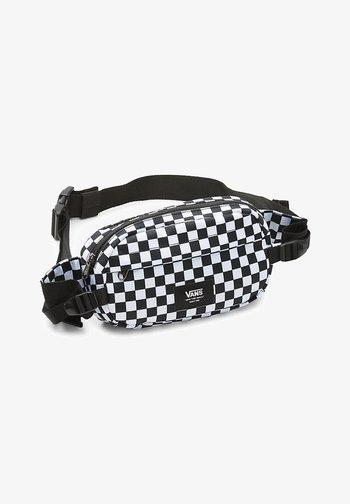 UA ALISO II HIP PACK - Bum bag - black/white check