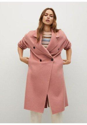 PICAROL - Classic coat - pastellrosa