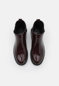 New Look - BOPIT CHELSEA CHUNKY - Platform ankle boots - dark red - 5