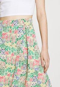 Monki - SIGRID BUTTON SKIRT - A-line skirt - multicolor - 3