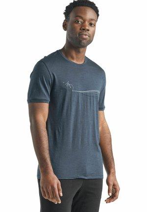 Treningsskjorter - dunkelblau