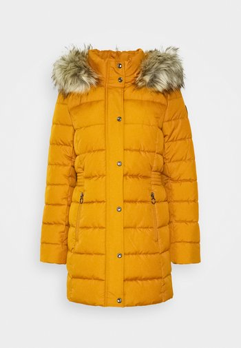 Zimní kabát - pumpkin spice melange