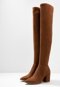 Steve Madden - JANEY - Over-the-knee boots - brown - 4