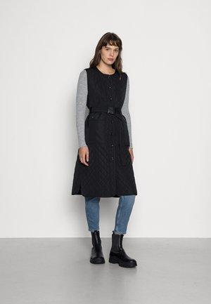 HISAR VEST - Waistcoat - black