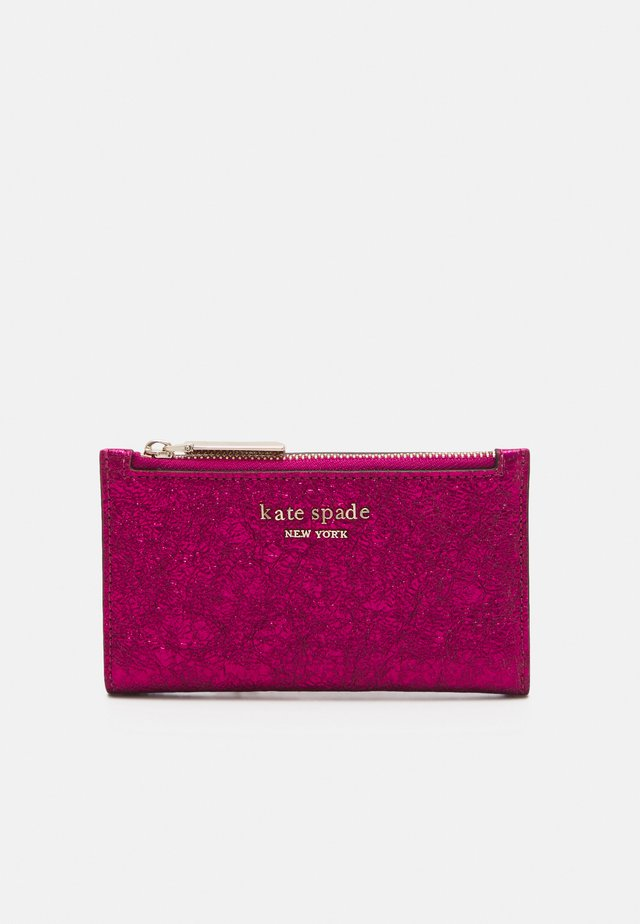 SMALL SLIM BIFOLD WALLET - Portefeuille - metallic rhododendron