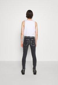 Versace Jeans Couture - COMFORT - Slim fit -farkut - black - 4