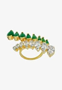 Bombay Sunset - Ring - green - 3