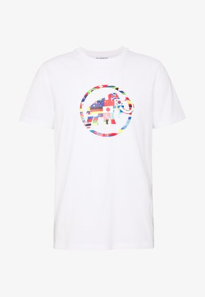 NATIONS MEN - T-shirts med print - bright white