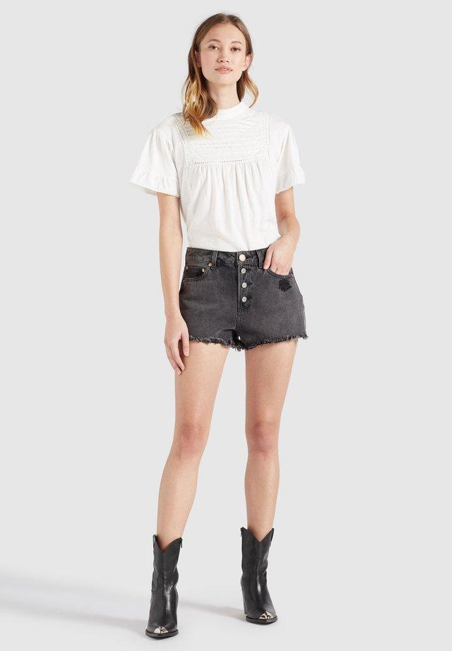 ANOUK - Shorts di jeans - schwarz gewaschen