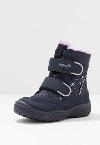 Superfit - CRYSTAL - Winter boots - blau/lila - 2