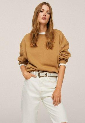 Sweatshirt - marron moyen