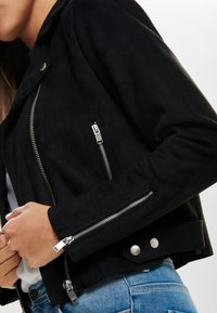 ONLY - Faux leather jacket - black - 4