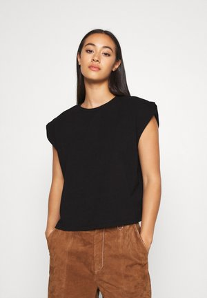 SLEEVE DETAIL - T-shirt basic - black