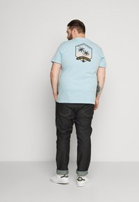 Blend - Print T-shirt - forget-me-not - 2